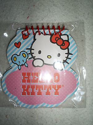 One Darling Hello Kitty 40 Sheet Spiral Notebook-Pink,Blue,White & Red