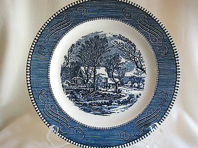 """Royal China """"The Old Grist Mill"""" ~ Currier & Ives"""