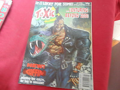 TOXIC #13   2000 AD A.D. Spin-off UK Comic 1991