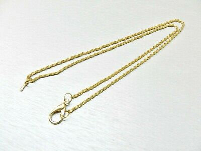 Pager  Gold Chain  w// Clip  9/'/'  Gold Tone  Jewelry Vintage  Telson   Beeper