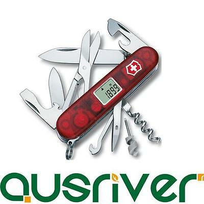 Victorinox Traveller Swiss Army Knife 1.3705.AVT 24in1 Altimeter Clock Barometer
