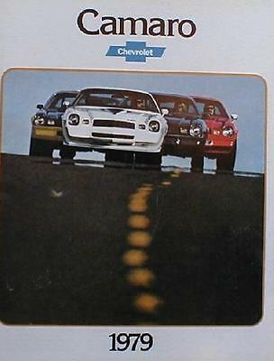 1979  Chevrolet   Camaro & Z-28 Original  Sales  Catalog