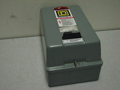 Square D8536sbg1cp1x11 Enclosed Motor Starter Size 0 600