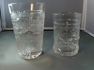 2 EAPG Early American Pressed Glass St. Louis Souvenier & Cherries