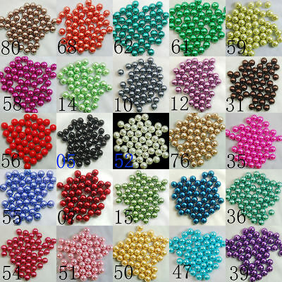 Top Quality Czech Glass Pearl Round Beads  4mm 6mm 8mm 10mm