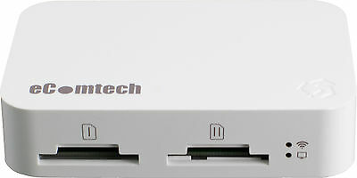 eComtech Toaster Pro - Wifi Media Server for iPad and iPhone - White
