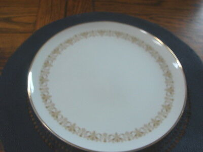 Sheffield Fine China Japan Imperial Gold DiNNER Plate