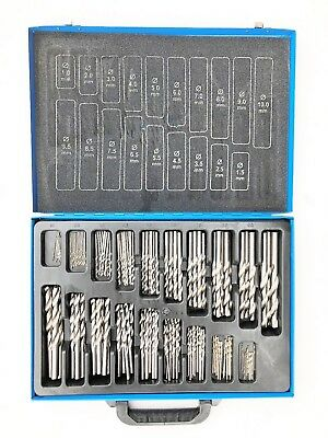 170 pc HSS Drill Bits Set. 1-10mm. 170pce Quality Drill bits in Metal Case.