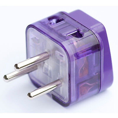 AC POWER Travel Adapter Converter Plug Electric Grounded Connector Jack ISRAEL