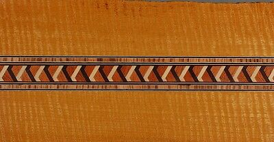 Micro Lined Edge Geometric Buffard Frères Inlay Banding Strip (Inlay-120)
