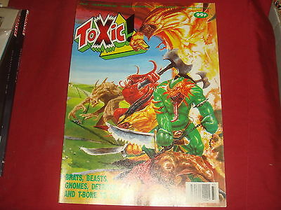 TOXIC #25 2000 AD A.D. Spin-off UK Comic 1991