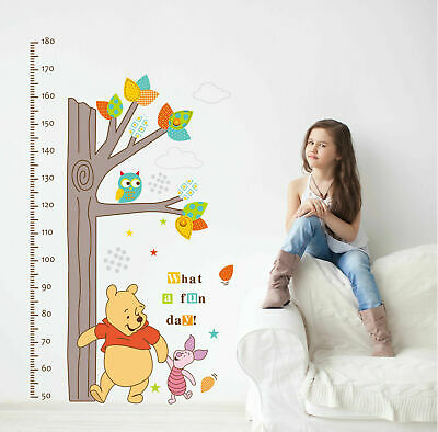 Giant Winnie the Pooh Baby Wall Decor Stickers Nursery Decal  Removable Kids DIY
