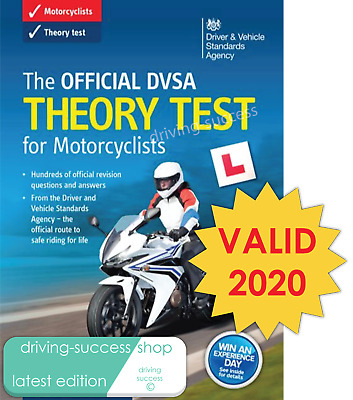The Official DSA Theory Test for Motorcycle Book for 2018 tests