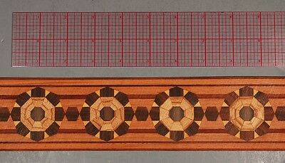 """2-5/8"""" Collectible Masterpiece Marquetry Banding by Buffard Freres (Inlay-304)"""