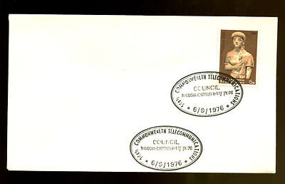 Cyprus 1976 Commonwealth Telecommunications Cover #C1863
