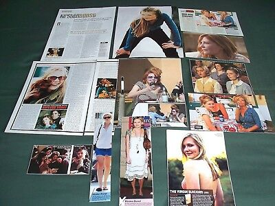 Kirsten Dunst - Film Star - Clippings -Cuttings Pack