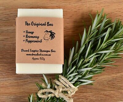 Dreadlocks Shampoo Bar by Dread Empire - Infused with Hemp & Rosemary Oil