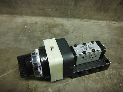 KAY PNEUMATICS SELECTOR SWITCH KV45 5-122 ~ New