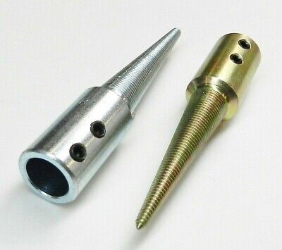 """TAPERED SPINDLES SET OF 2 R & L WITH 5/8"""" ID HOLE for GRINDER & POLISHING MOTOR"""