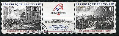 Timbre  Neuf De France Oblitere N° T2538A Revolution Philexfrance 89