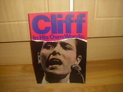 CLIFF Richard  in his Own Words  Book Complied by Kevin St John   OMNIBUS 1981