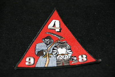 TOMCAT 9 4 8 A B TRIANGLE MILITARY PATCH NEW