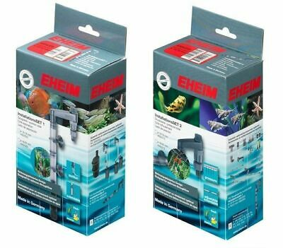 Eheim External Fish Tank Filter Installation Sets 1 & 2 12/16 16/22 Inlet Outlet