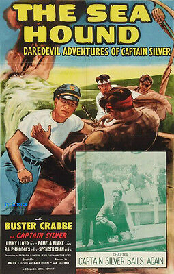 The Sea Hound - Cliffhanger Movie Serial DVD Buster Crabbe Jimmy Lloyd