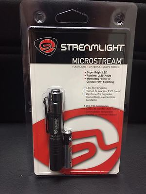 Streamlight MicroStream LED-DEL Flashlight w/C4 LED #66318