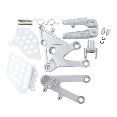 Pair of Front Footrest & Foot Pegs for HONDA CBR600RR 2003 2004 2005 2006
