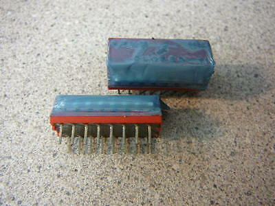 GRAYHILL PIANO-DIP Switch 8-Position Rocker Thru-Hole SPST **NEW** 1/Per