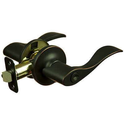 Madison Oil Rubbed Bronze Entry Lever Lifetime Warranty