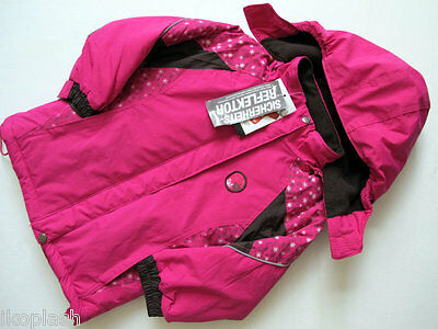 Mini Pinks Color School Warm Girls Jacket Size 18 months to 02-3t-04 years