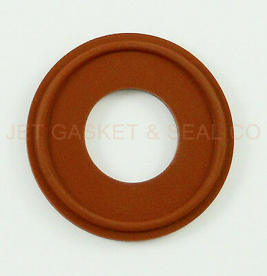 """Box Of 25 Tri Clamp Gaskets  Silicone 1"""" Steam/heat"""