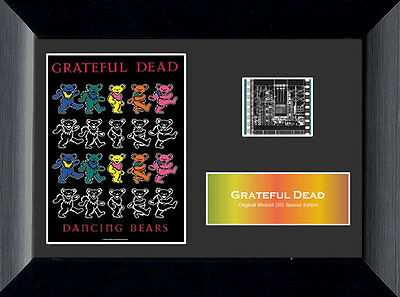 Film Cell Genuine 35mm Framed & Matted Grateful Dead Bears Special Edition 3007