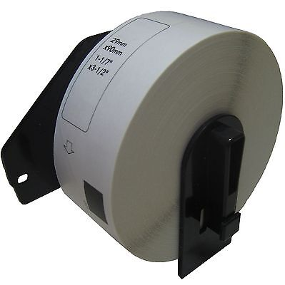 (1) Roll DK-1201 Brother Compatible Labels.  (Includes black plastic core)