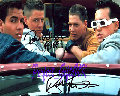 Back To The Future Signed Autographed 10X8 Repro Photo Biff Billy Zane