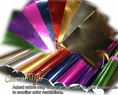【Mirror Chrome】ALL COLOUR【200mm x 300mm 】Vehicle Wrap Vinyl Sticker Air Free
