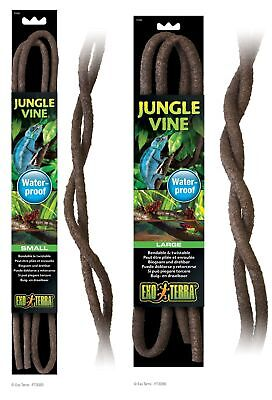 Exo Terra Reptile Jungle Vine Waterproof Bendable Twistable Natural Look & Feel
