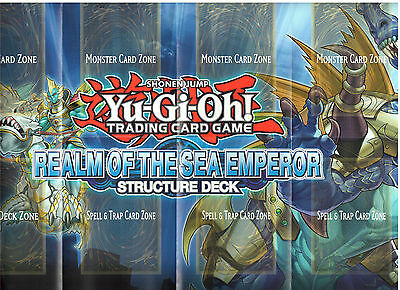 Yu-Gi-Oh Playmat From The Realm Of The Sea Emperor Deck