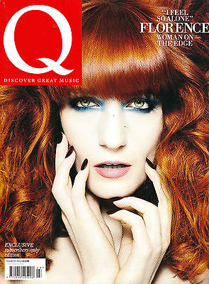 Q Magazine March 2012 Ltd Edit FLORENCE+THE MACHINE Trent Reznor COLDPLAY @Mint@