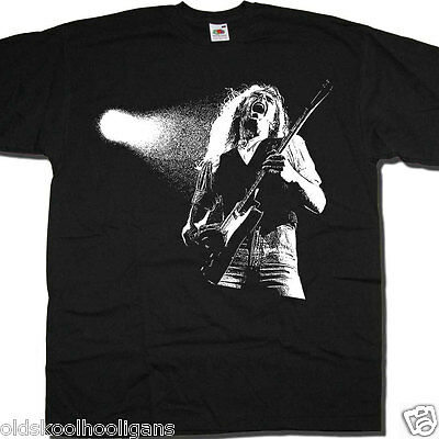 Francis Rossi T Shirt - On Stage Photo With Status Quo Classic Rock T shirt