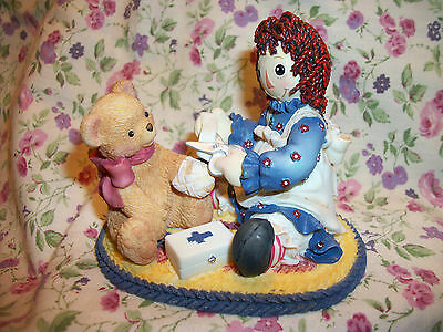Enesco Raggedy Ann & Andy  Friendship Makes It All Better 953164