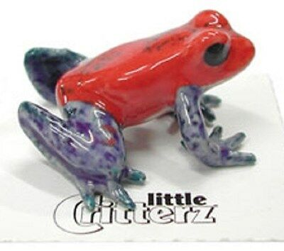 Little Critterz  LC328 - Dart Frog (Buy 5 get 6th free!)