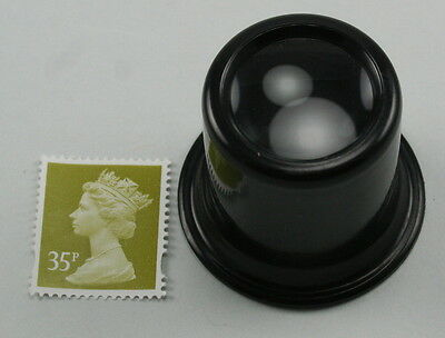 Powerful 7x magnification watchmakers eye glass. Fits neatly in the eye