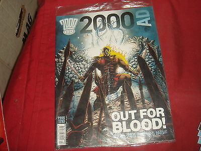 2000 A.D. Prog 1793  Weekly Comic 25 July 2012 - Judge Dredd