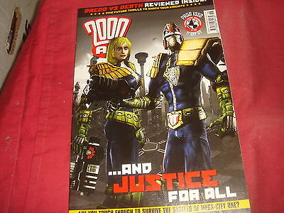 2000 A.D. Prog 1358  Weekly Comic 17 Sept 2003 - Judge Dredd