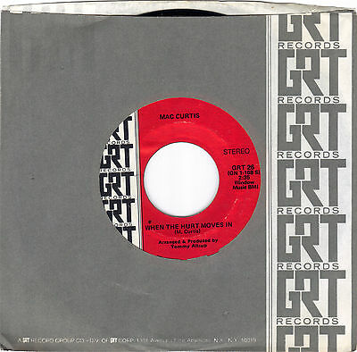 MAC CURTIS / EARLY IN THE MORNING / WHEN THE HURT MOVES IN / MINT (-) CONDITION