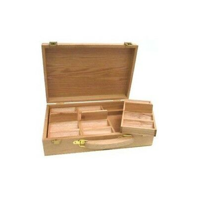 Oak 300 Chip Poker Case - Item 95-0301