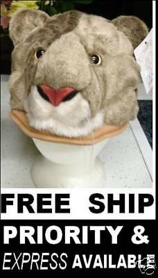 COUGAR HAT wsu halloween costume WILDCAT puma mountain lion cat mascot head mask